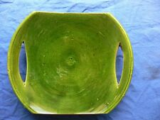 Moroccan hand-made pottery tray - suitable for meal, dips, sweets.