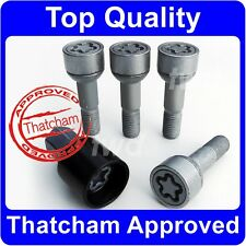QUALITY ALLOY WHEEL LOCKING BOLTS FOR MERCEDES BENZ M/ML CLASS (45mm LONG) [5Q]
