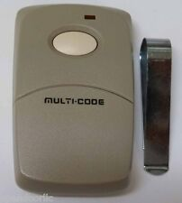 MultiCode 3089 Garage Door Opener or Gate Opener Remote Opener Transmitter 1090