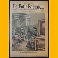 PETIT PARISIEN Supplément littéraire illustré Drame ménagerie 27 décembre 1903