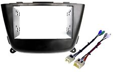Radio Stereo Installation Double 2 Din Dash Kit Wire Harness Fits Nissan Sentra