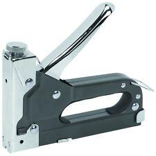 Powerful 3 Way Tacker Staple Gun Stapler Kit WITH 1500 Brad Nails &  Staples