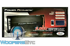 POWER ACOUSTIK RZ4-2000DSPB 4 CHANNEL 2000W BLUETOOTH MOTORCYCLE AMPLIFIER NEW