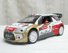 2013 WRC DS3 Citroen Racing Total World Rally Team S.Leob DieCast Scale 1:26