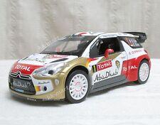 2013 WRC DS3 Citroen Racing Total World Rally Team S.Leob DieCast Scale 1:26