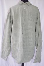 Indigo Palms Tommy Bahama Shirt XL Linen Blend Button Down Green Long Sleeve