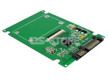 "1.8"" point ce ssd HDD to 2.5"" 22pin sata Adaptateur Converter Card + 2 FCC Cable Hard"