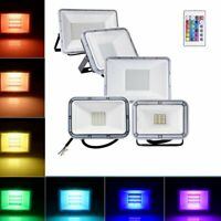 10W-300W LED RGB Floodlight Outside Light Security Flood Lights Outdoor Garden