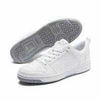 Puma Rebound LayUp Lo SL Schuhe Sneaker 369866 Weiß