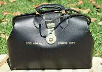 Vintage GUNSMOKE TV SERIES DOC ADAMS DODGE CITY Medical Bag Stethoscope Prop WOW