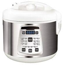 Multikocher 5 Liter Edelstahl Schnellkochtopf Reiskocher Kochautomat cooker NEU