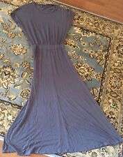 Victoria's Secret Supermodel Essentials Size XS Gray Maxi Dress Ruffled Waste
