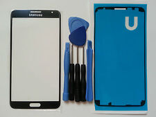 Samsung Galaxy Note 3 Neo Mini Black Genuine Glass Screen Lens Tools Adhesive