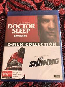 Doctor Sleep Directors Cut/The Shining - 2 Movie Blu-Ray Set (2020)