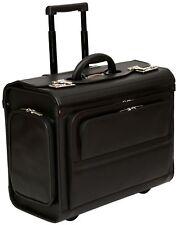 """Roues Pilote case Rolling Ordinateur Portable 17.3"""" Rouleau Sac Valise Bagage Main Vol"""