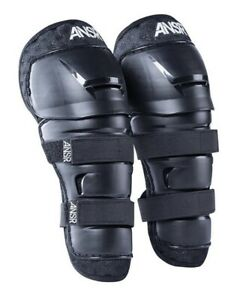 ANSWER Kids Pee Wee Motocross Knee Guards Black Age Approx 4-9 New
