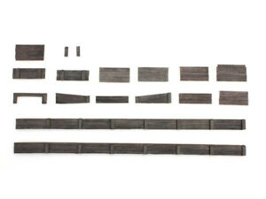 Artitec-7870010 H0 Bahnsteigkanten aus Holz