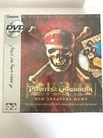 Pirates of the Caribbean DVD Treasure Hunt Board Game Disney NEW SEALED!