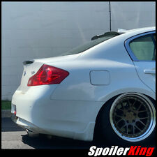 Fits 08-13 G37 2dr Coupe OE Style Painted Spoiler Wing COLOR CODE QX1