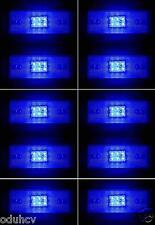 10 piezas x 24v 6 LED LUCES INTERMITENTE LATERAL AZUL para Scania Volvo Daf Man