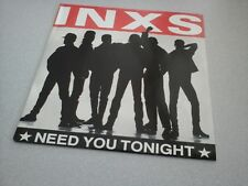 "INXS : Need you tonight (vinyle 45 tours / 7"" vinyl)"