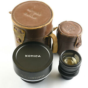 Konica Zoom 8 Teleconverter and Wide Converter