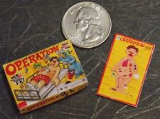 Dollhouse Miniature OPERATION Board Game Toys 1:12 inch scale A4 Dollys Gallery