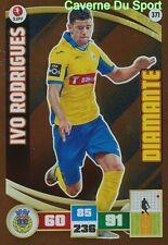 371 IVO RODRIGUES PORTUGAL FC.AROUCA DIAMANTE CARD ADRENALYN LIGA 2016 PANINI