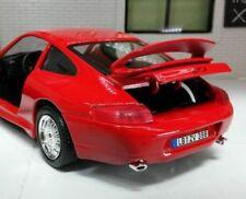 Coches, camiones y furgonetas de automodelismo y aeromodelismo Bburago color principal rojo Porsche