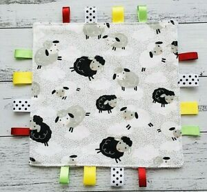 Taggy Blanket Sensory Toy Taggie Tag Baby Taggies