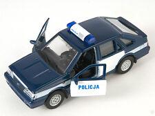 Livraison rapide polonez policja police bleu/Blue welly modèle auto 1:34 nouveau OVP