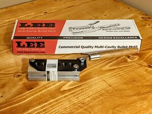 Lee Precision 6-Cavity Bullet Mold TL356-124-2R for 9mm, .380 auto (90465)