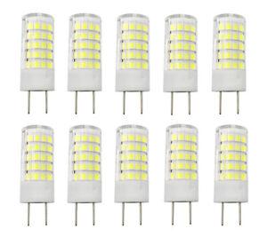 10pcs G8 G8.5 Led Light Bulb 5W 64-2835 SMD Lamp 110V/220V/12V Ceramics Light