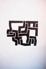 EDUARDO CHILLIDA - Grabado original Derriere le miroir - 1974