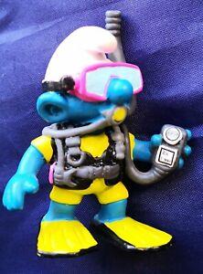 Schtroumpf / Smurf : Figurine Schtroumpf , Plongeur nouvelle version