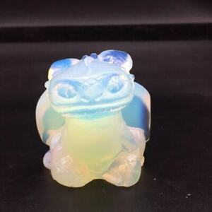 Natural Opalite Crystal Carved Toothless Polished Decoration Healing Reiki 1pc