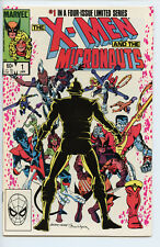 Lot of 4 X-Men and Micronauts #1-4 VF Chris Claremont, Butch Guice