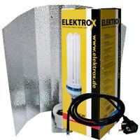 Elektrox 125-W 125-Watt Dual ESL CFL Wuchs Blüte 2100K inkl. Reflektor