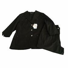 Elena Miro 'Pantalons Femme Coton sans Doublure + Veste Manches 3/4 Taille 41-50