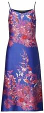 Banana Republic Womens Midi Slip Dress Floral Strappy Silky EUC Size 10 P Petite