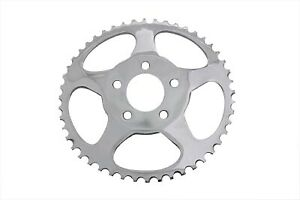 Rear Sprocket Chrome 48 Tooth fits Harley-Davidson