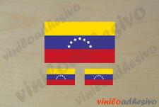 PEGATINA STICKER VINILO Bandera Venezuela 7 flag autocollant aufkleber adesivi