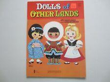 Dols of Other Lands Paper Dolls, Vintage, by Western Publishing.