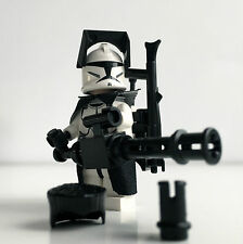 Lego Star Wars Custom Clone Trooper + Top Custom equipment & Mini Gun