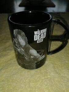 The Walking Dead Daryl Crossbow black Coffee Mug AMC zombie