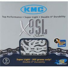 KMC X9-SL 9 Speed Bicycle Chain Silver 116 Link-Mountain/Road-New