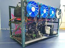 TOTHEMOON 8 GPU Mining Rig Configured WiFi & GPUs READY TO MINE UK STOCK NEW