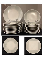 VINTAGE Mikasa SOFTWARE Dinnerware Pattern: CW115 Sage/Cream 22-Piece Set