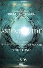 Ashes Divide, orig Island promotional poster, 2008, 11x17, Ex, Perfect Circle