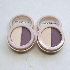 SMASHBOX   purple golden beige   eye shadow duo  ENCHANTING - LOT of TWO